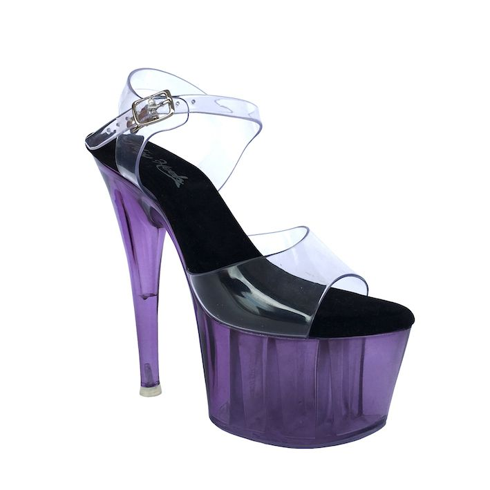 Sandália Split Roxo - Play Heels (encomenda)