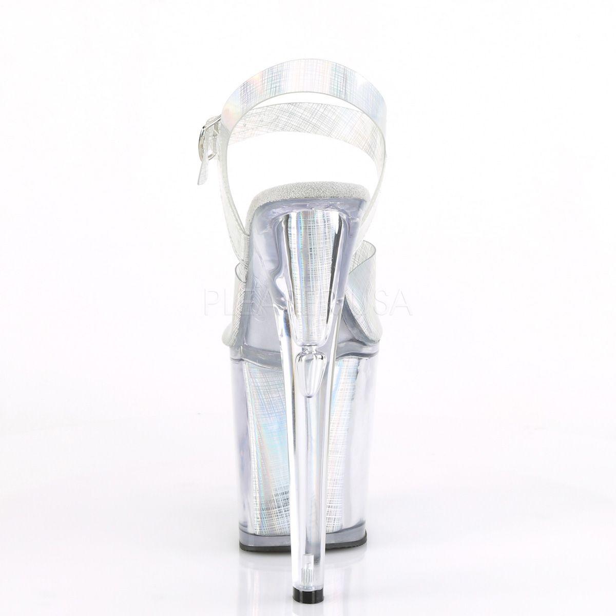 Sandália Xtreme 808 N CRHM Acrílico Holográfica - Pleaser (encomenda)
