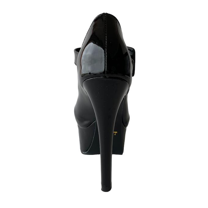 Sapato Boneca Preto NR 7US - Play Heels (pronta entrega)
