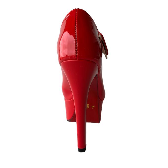 Sapato Boneca Vermelho - Play Heels (encomenda)