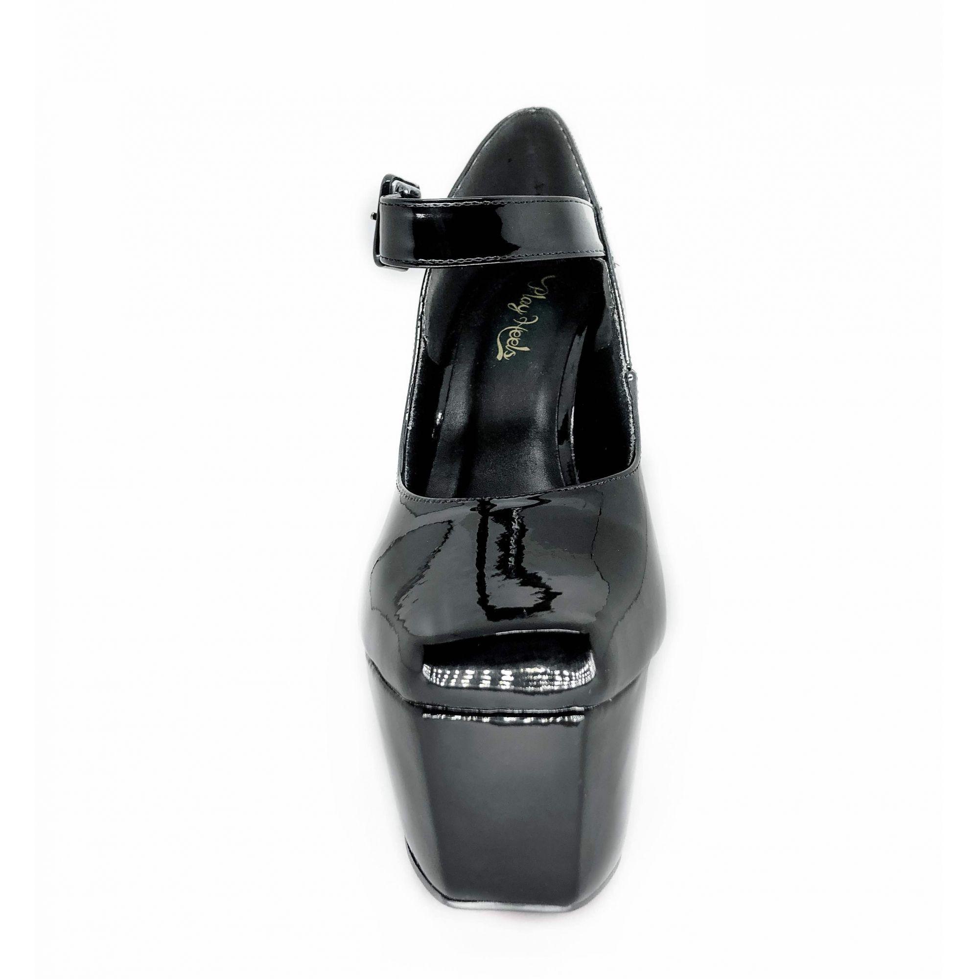 Sapato Doll Preto NR 40BR - Play Heels (pronta entrega)