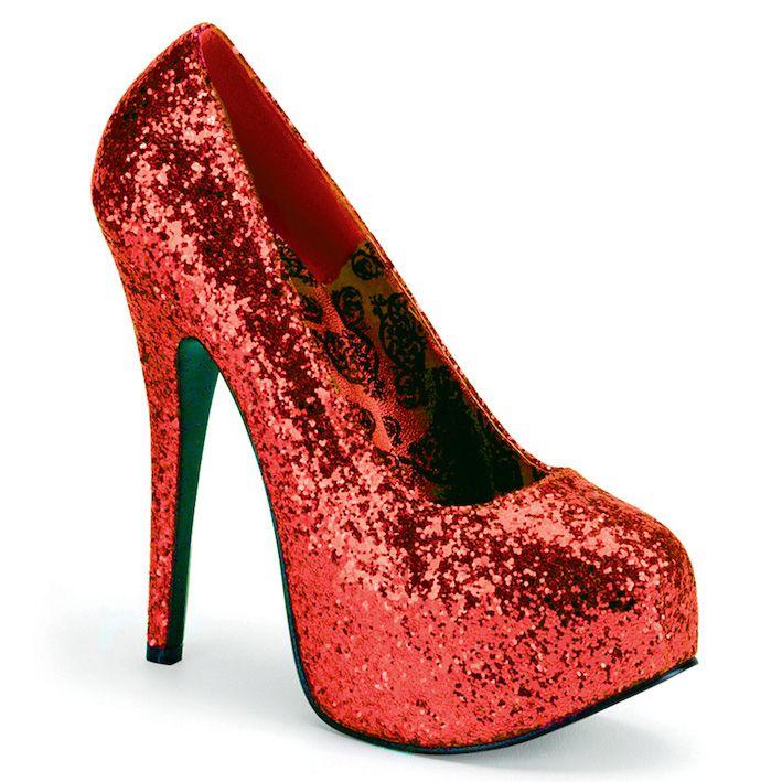 Sapato Teeze 06G Glitter - Bordello (encomenda)