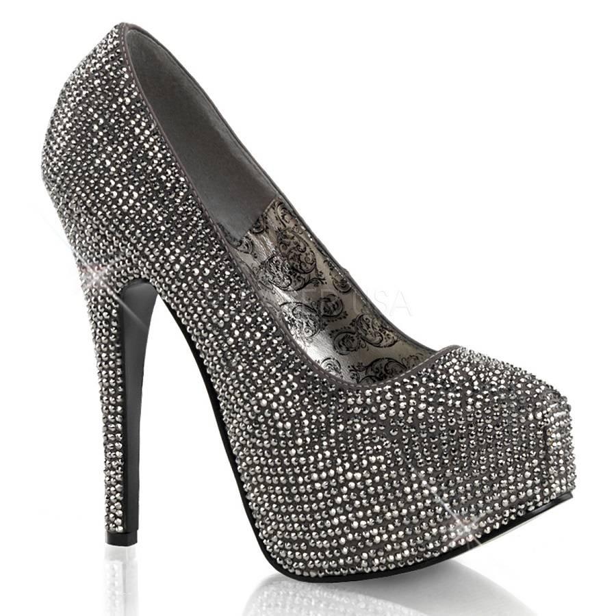 Sapato Teeze 06R Strass - Bordello (encomenda)