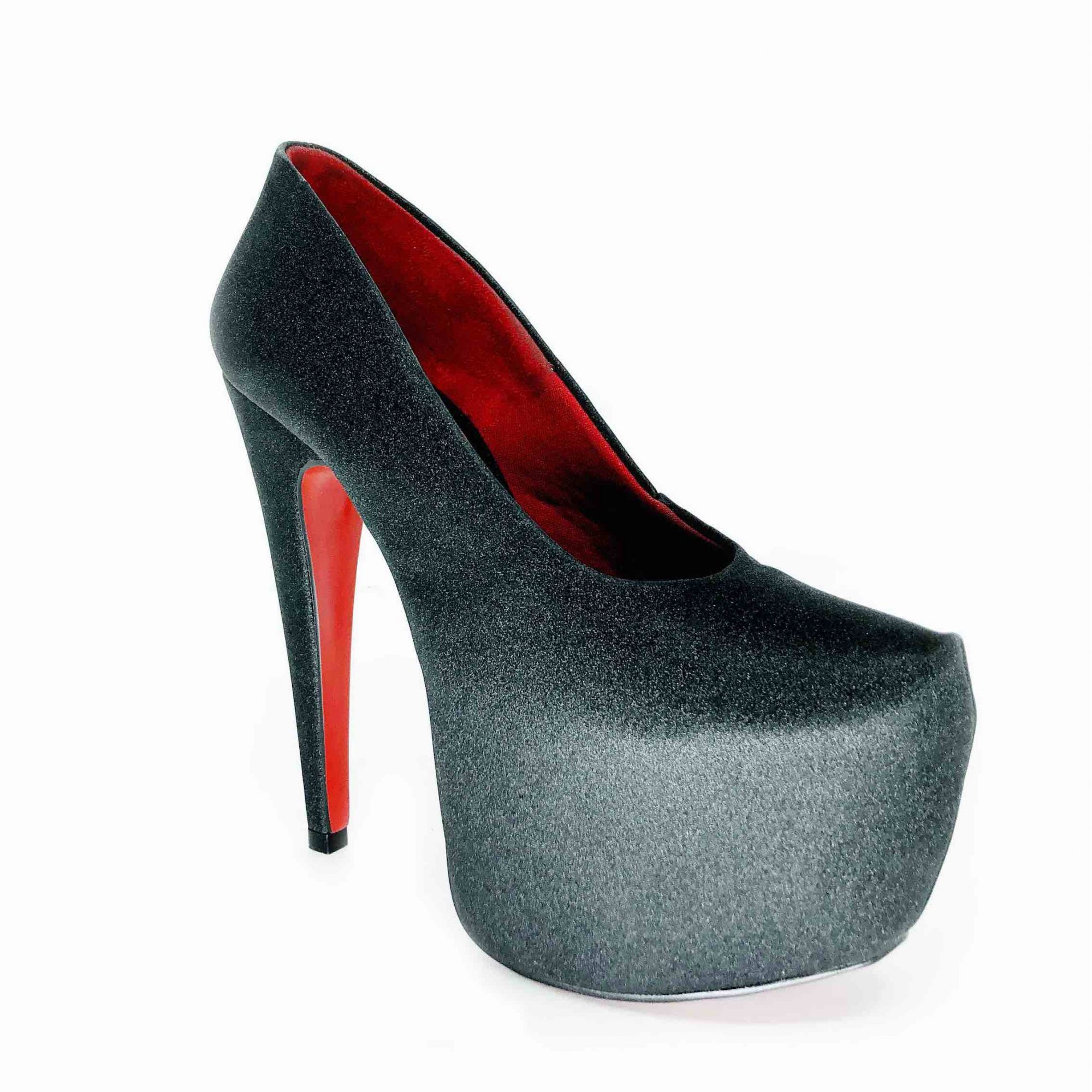 Scarpin Beyonce Preto NR 9 US - Play Heels