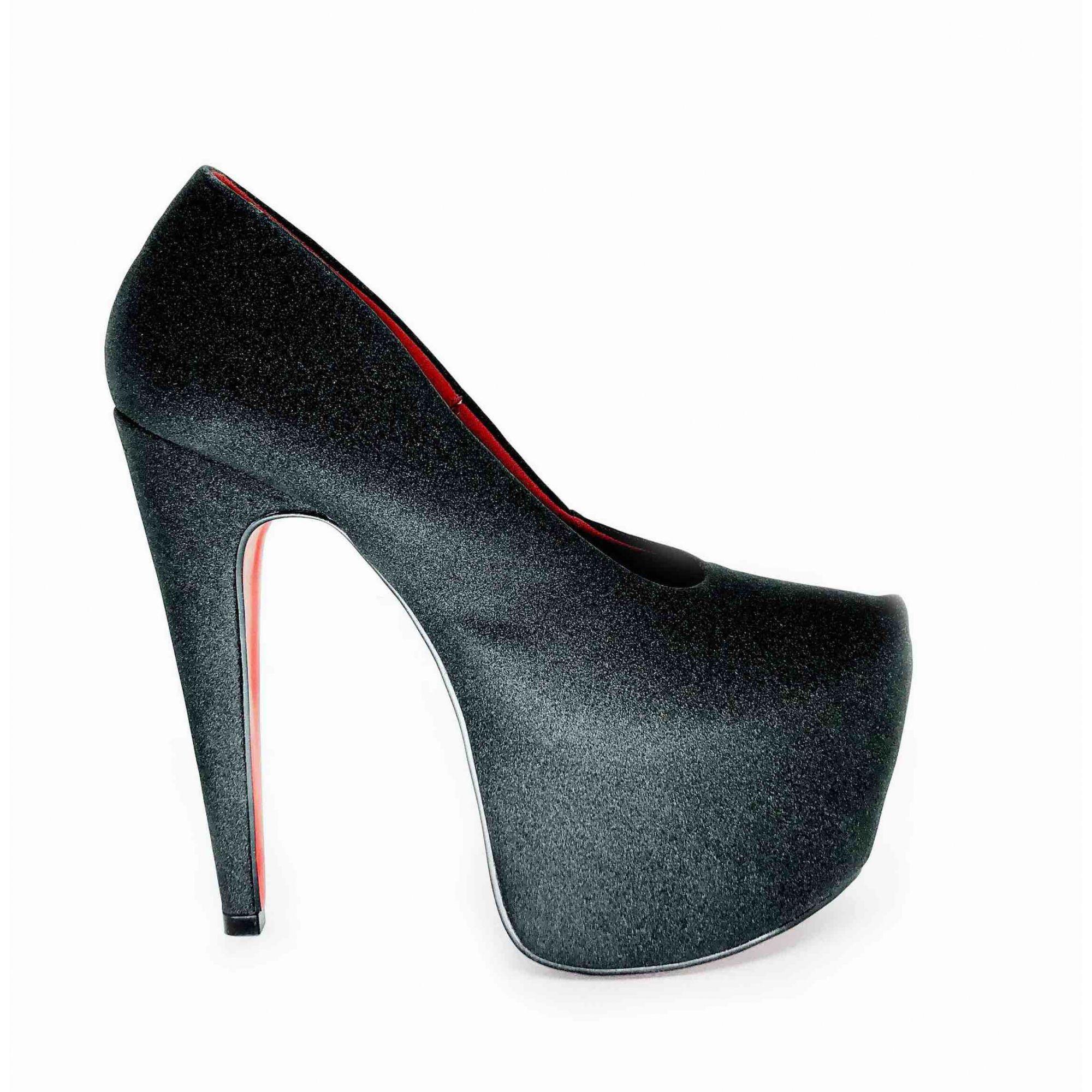 Scarpin Beyonce Preto NR XX US - Play Heels