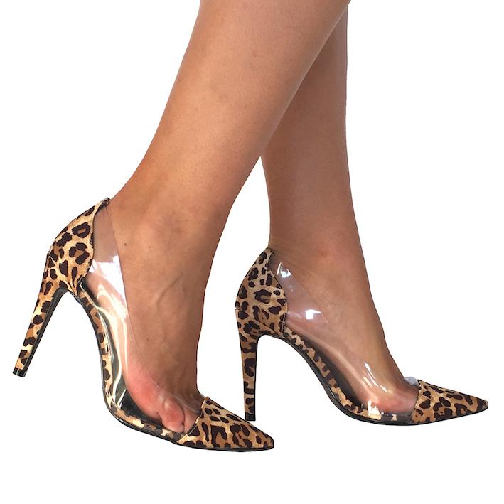 Scarpin Madonna Onça NR 7US - Play Heels (pronta entrega)