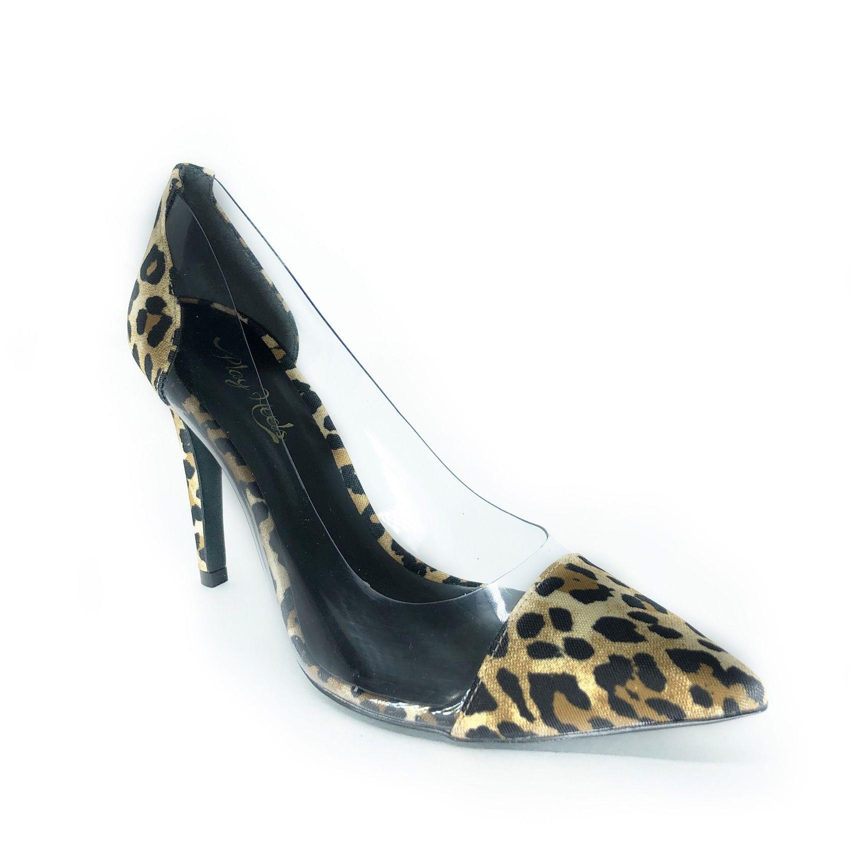 Scarpin Madonna Onça NR 9US - Play Heels