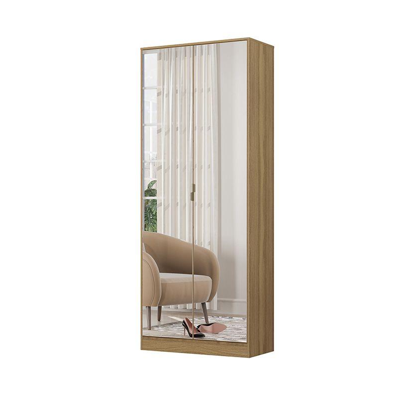 Armário Sapateira com Espelho 2 Portas 1 Gaveta Grife Amêndola - Demóbile