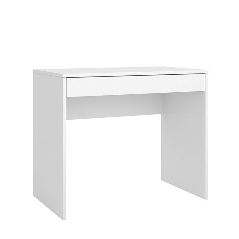 Escrivaninha Mesa de Computador com 1 Gaveta Facility Branco - Demóbile