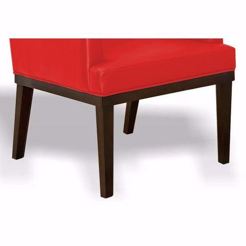 Kit com 02 Poltronas Decorativa Vitória Vermelho