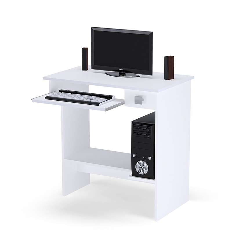Mesa para Computador Branca - AJL