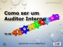 Como ser um Auditor Interno da ISO 14001