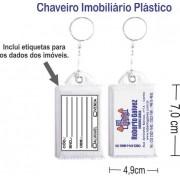 Chaveiros Imobiliário plástico