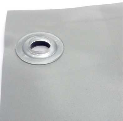 Faixa Plastica 70x120cm com ilhóes