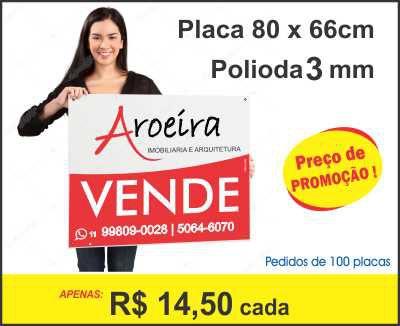 Placa Polionda 80x66cm