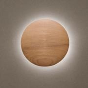Arandela Eclipse Grande Castanho Madelustre