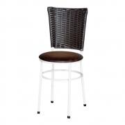 Cadeira Branca Para Cozinha Hawai Café