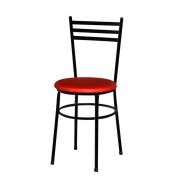 Cadeira Epoxi Preta Para Cozinha