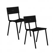 Cadeira ISO Empilhavel Com 2 Unidades