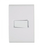 Conjunto 1 Interruptor Paralelo Horizontal 10A 4x2 Tramontina Liz