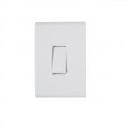 Conjunto 1 Interruptor Simples 10A 4x2 Tramontina Liz