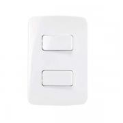 Conjunto 1 Interruptor Simples + 1 Interruptor Paralelo 4x2 B3 MarGirius