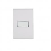 Conjunto 1 Interruptor Simples Horizontal 10A 4x2 Tramontina Liz