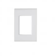Espelho Placa 4x2 3 Postos Com Suporte Tramontina Liz