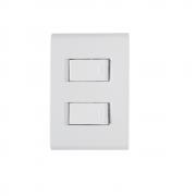 Conjunto 2 Interruptor Simples 10A 4x2 Tramontina Liz