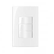 Conjunto 2 Interruptor Paralelo + 1 Simples 4x2 Sleek MarGirius