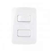 Conjunto 2 Interruptor Simples Separado 4x2 10A B3 MarGirius