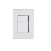 Conjunto 3 Interruptor Simples 10A 4x2 Tramontina Liz