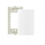 Espelho Placa 4x2 Cega Com Suporte Sleek MarGirius