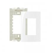 Espelho Placa 4x2 3 Postos Com Suporte Sleek MarGirius