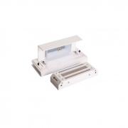 Fechadura Magnética Eletroímã DZ M150 Branca Ipec