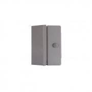 Fechadura Magnética Eletroímã M150 Cinza Com Sensor Ipec