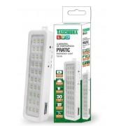 Kit 10 Luminária De Emergência Led Pratic Tle 06 Bivolt Taschibra