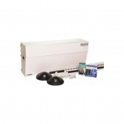 Kit Automatizador Porta Social Deslizante Com Sensor Idealle Branco Ipec