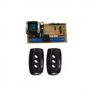 Kit Central De Portão X2 Com Dois Controles TX Deco Ipec
