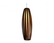 Pendente Barril 70cm em Madeira Ripada - Accord 304