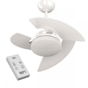 Ventilador De Teto com Controle Remoto Tron Aventador Branco 127v