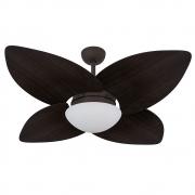Ventilador de Teto Volare Marrom Texturizado VD42 Dunamis 4 Pás Tabaco