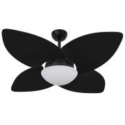Ventilador de Teto Volare Nero VD42 Preto Dunamis 4 Pás Preto