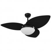 Ventilador de Teto Volare Nero VD42 Preto Dunamis S3 3 Pás Preto