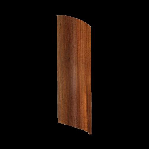 Arandela de Parede Interna Madeira 55cm Foco Duplo 2xE27
