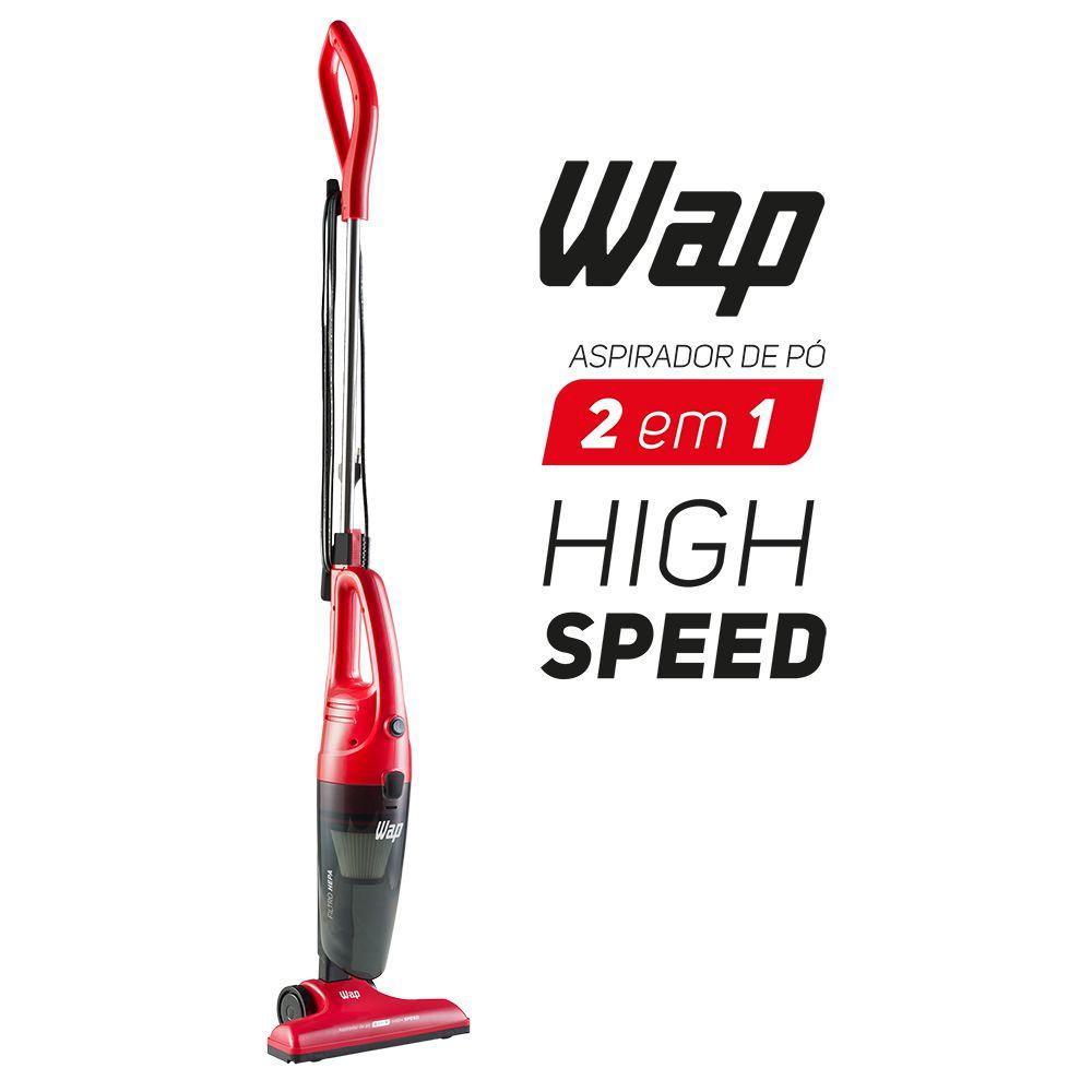 Aspirador de Pó Vertical High Speed - Wap