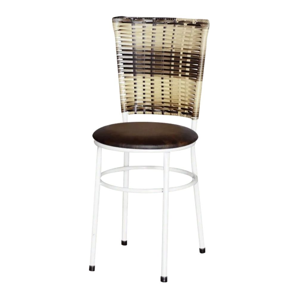 Cadeira Branca Para Cozinha Hawai Cappuccino Premium