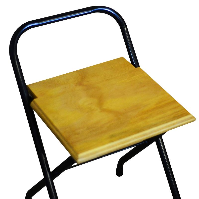 Cadeira Dobrável Rústico em Madeira Natural
