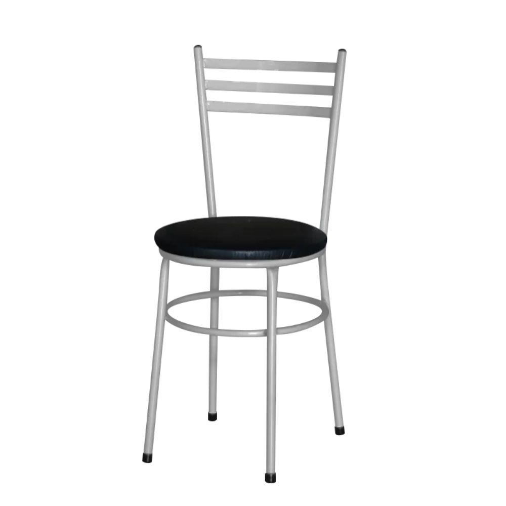 Cadeira Epoxi Cinza Para Cozinha