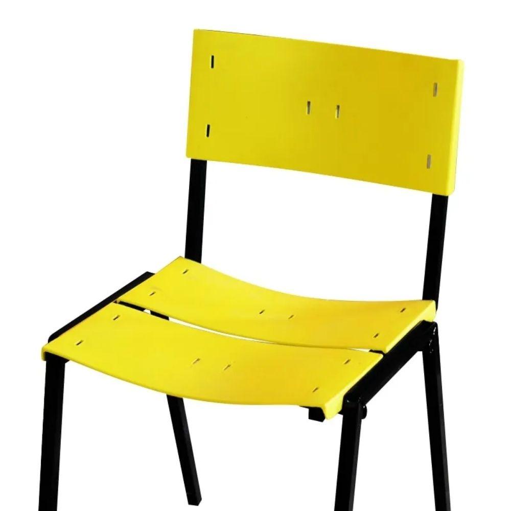 Cadeira ISO Empilhavel Com 1 unidade